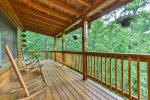 Take a load off on one of the decks with mountain views