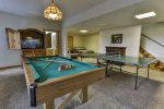 Enjoy a game of pool or ping pong