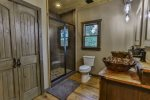 Private bathroom on main level