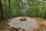 Gather `round the fire pit.