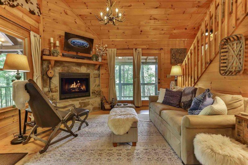 Blue Sky Cabin Rentals Aska Retreat Your Romantic Escape