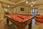 Regulation pool table