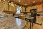 Comfortable kitchen to make cookies and memories in