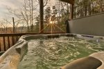 Hot tub to soak your cares away