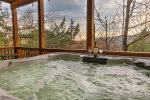 Enjoy a coffee on the deck while taking in the views