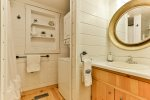 Open loft with bed