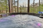 Hot tub to soak away your cares