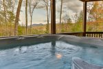 Six Person Hot Tub with Amazing Views