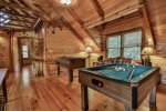 Game Room In Loft
