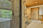 Gorgeous views and abundant seating on lower level porch