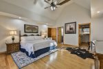 Upper Level King Master Bedroom 65` Tv YouTube tv