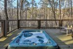 Terrace Level Hot tub