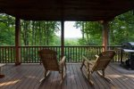 Stunning mountain top views from all the deck areas