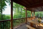 Magnificent mountain top views from all the deck areas