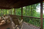 Spectacular mountain top views from all the deck areas
