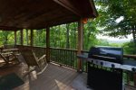 Plenty of deck space to enjoy the mountain views.