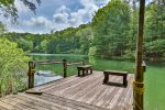 Deer Run Pond sleeps 4, located in Walnut Mountain