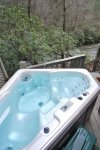 Soak in the hot tub while enjoying gorgeous view