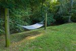 Hammock next to the creek