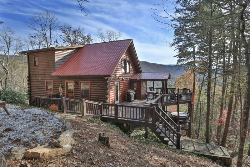 Blue Sky Cabin Rentals: Lost In The View
