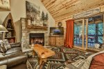 Private master bathroom with soaker tub and walk in shower