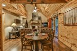 Grill up something fabulous on the screened in deck