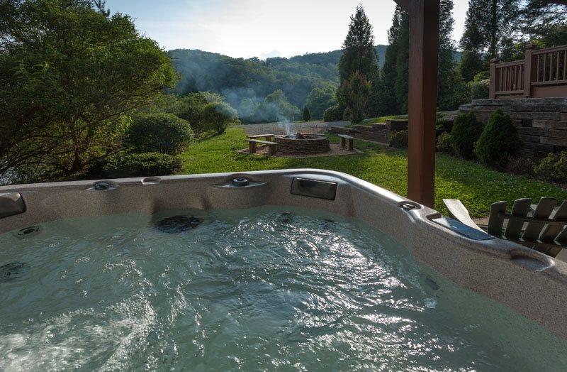 Blue Ridge Ga Vacations Water S Edge Blue Sky Cabin