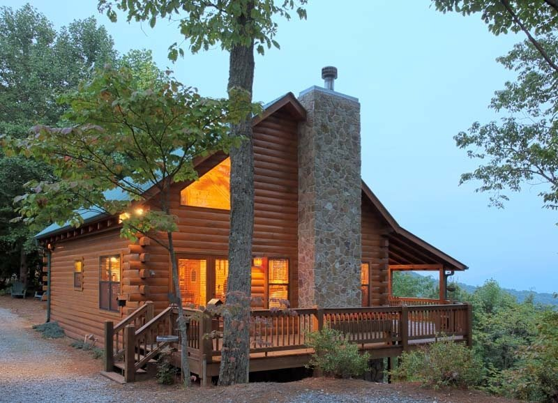 North Ga Mountain Cabin R Neck Of The Woods Blue Sky Cabin Rentals