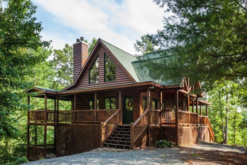 Blue Sky Cabin Rentals Piece Of Heaven