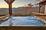 Luxurious Hot Tub on Terrace Deck