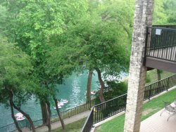 CW C212 - COMAL RIVER VIEW - Camp Warnecke Condos - Double Balconies