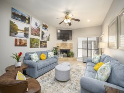 CW B202 - Newly Remodeled! Comal River Camp Warneke Condo