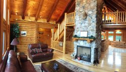 Three Bedroom Log Home Retreat