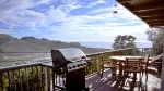 Hummingbird Cottage BBQ and Deck Dining to Ocean/River Views Upper Deck
