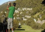 More golf action at Thredbo