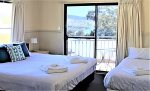 Whistler 3 - Jindabyne Accommodation - 2nd Bedroom upstairs with bathroom next door