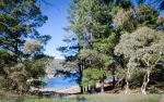 Cobb and Co 2 across from the Lake and Jindabyne shared trail for hikes and bikiing fun