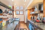 Fully Equipped Gourmet Kitchen - Stainless Steel Appliances