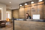 Guests enjoy complimentary access to the Latitude 38 clubhouse in Mountain Village with on-site concierge services