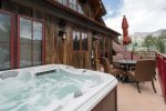 Soak the day away in your own private hot tub
