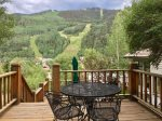A convenient in town location, but the privacy of a Mountain Village home
