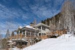 Perched on a hill overlooking the gorgeous town of Telluride
