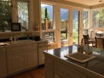 Bright and open kitchen with high end appliances