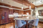 Gather around the kitchen island for time spent with friends and family