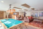 The Clubhouse at Lorian offers up a pool table, ping pong, and more