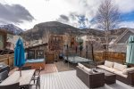 Columbia House has a backyard playground - Hot tub, outdoor dining, and more