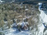 C Forever Lodge is located right off the Galloping Goose ski run