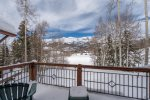 Stunning mountain views from your private deck