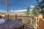 Gorgeous unobstructed views off of your private deck