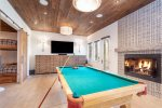 Challenge your friends to a game of billiards